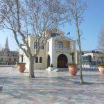 Das Rathaus (Hotel de Ville) in Berre l'Etang