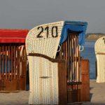 Strandkörbe in Howacht