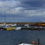 Hörvik Hafenpanorama