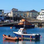 Portrush Hafenpanorama
