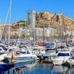 Alicante Hafen Panorama