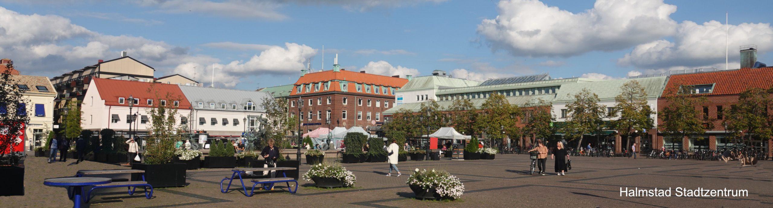 Halmstad Stadtzentrum